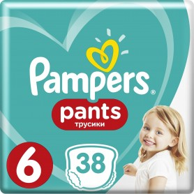Pampers Active Baby Dry Value Pack Plus/Economy Pack ( Izmērs 6 ) 38 gab