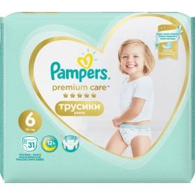 Pampers Premium Value Pack ( Izmērs 6 ) 31 gab