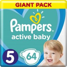 Pampers Giant Pack Junior ( Suurus 5 ) 64 tk