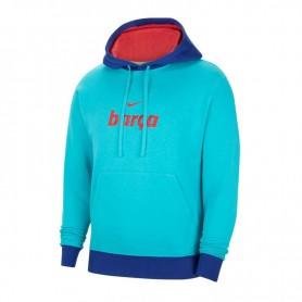 Men's sweatshirt Nike FC Barcelona NSW Club Hoodie