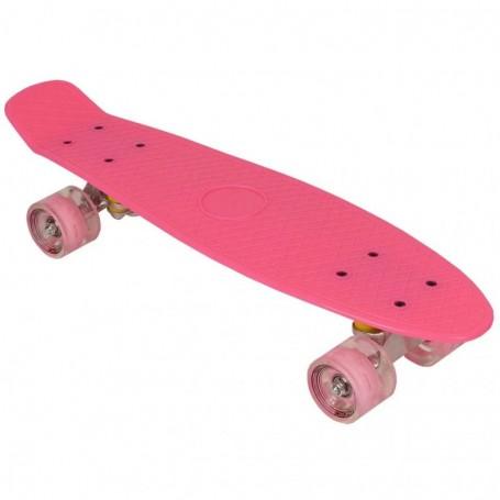 "Plastic Skateboard 22 ""Led Enero"