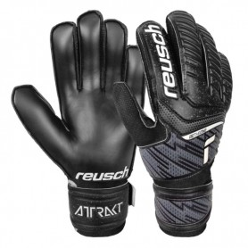 Детские футбольные вратарские перчатки Reusch Attrakt Solid