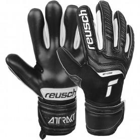 Детские футбольные вратарские перчатки Reusch Attrakt Infinity