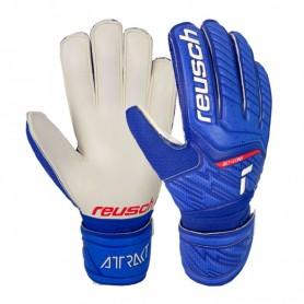 Детские футбольные вратарские перчатки Reusch Attrakt Grip