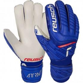 Детские футбольные вратарские перчатки Reusch Attrakt Grip Finger