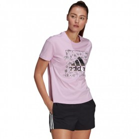 Sieviešu T-krekls Adidas Big Logo Foil Graphic