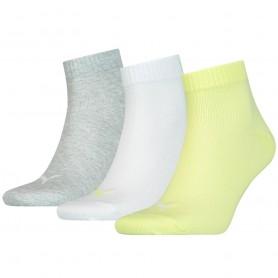 Socken Puma Unisex Quarter Plain 3 stk