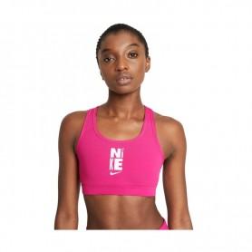 Женский спортивный бюстгальтер Nike Swoosh Icon Clash