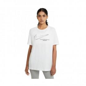 Women's T-shirt Nike NSW Boy Swoosh