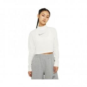 Sieviešu T-krekls ar garām piedurknēm Nike NSW Tee Crop