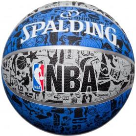 Basketbola bumba Spalding NBA Grafitti Rubber Ball