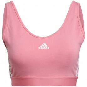 Sieviešu sporta krūšturis Adidas Essentials 3-Stripes