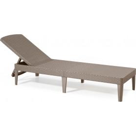 Plastmasas sauļošanas gulta AlliBERT JAIPUR