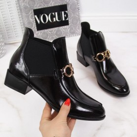 Women's shoes Lacquered Chelsea boots Potocki