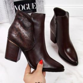 Women's shoes insulated snake skin Potocki