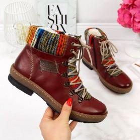 Women's shoes Maroon Rieker