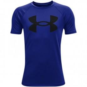 Bērnu T-krekls Under Armor Y Tech Big Logo