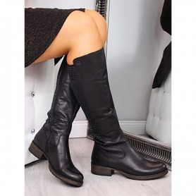 Women's shoes Leather boots Rieker