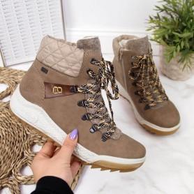 Women's shoes insulated boots Rieker