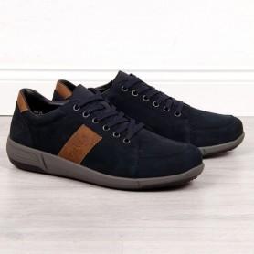 Men's shoes Leather casual Rieker