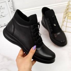 Women's shoes Black insulated boots T.Sokolski