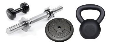 Hanteles, svaru stieņi un diski