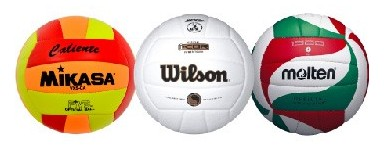 Indoor volleyball balls