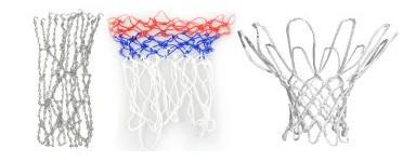 Basketball hoop nets